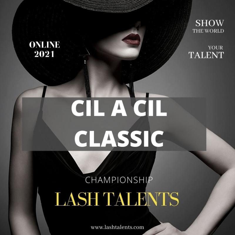 Insciption championnat extension de cils Cil à cil Lash Talents