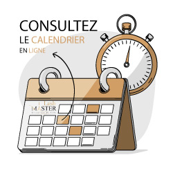 Calendrier formation extension de cils